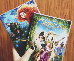 brave, disney, and dvd image