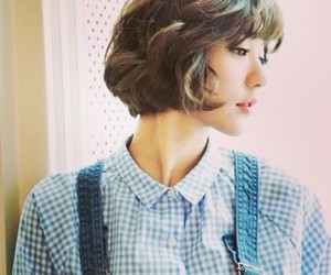 beautiful, short hair, and cool image