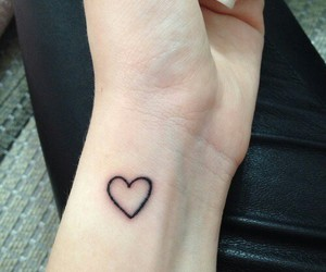hipster, beautiful, and heart image