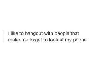 friends, phone, and forget image