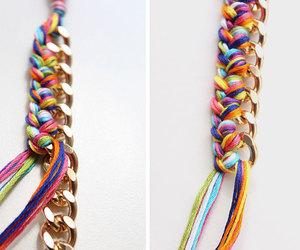 blogger, bracelet, and diy image