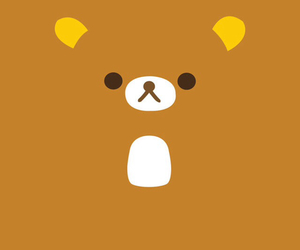 bear, wallpapper, and cafe image