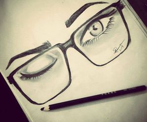 draw, eye, and cute image
