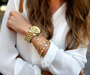 accessories, bag, and gold image