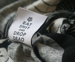 drop dead, fashion, and clothes image