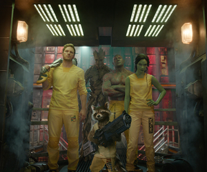 guardians of the galaxy, groot, and drax image