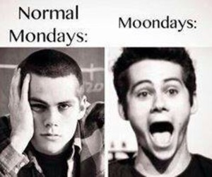 monday, stiles, and moonday image
