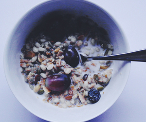 blue, breakfast, and cereal image