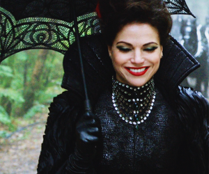 regina mills, once upon a time, and evil queen image