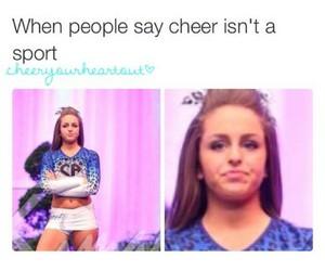 cheer, cheerleader, and happy image
