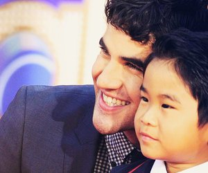 glee, darren criss, and darren image
