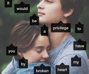 the fault in our stars, tfios, and couple image