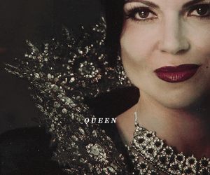 evil queen, once upon a time, and lana parrilla image