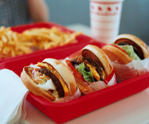 food and burgers image