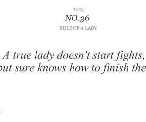 fight, lady, and quote image