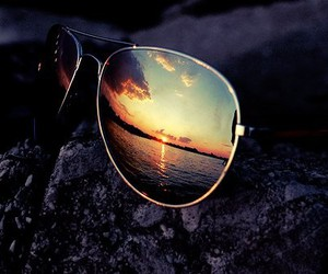 glass, summer, and sunglasses image