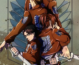 Erwin, levi, and mike image