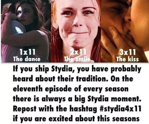 stydia, teen wolf, and stydia4x11 image