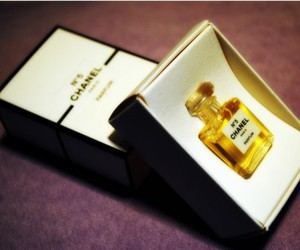 chanel, girl, and parfum image