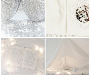 bed, Dream, and sparkle image