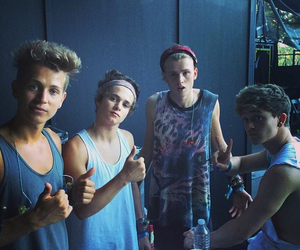 the vamps, tristan evans, and cute image