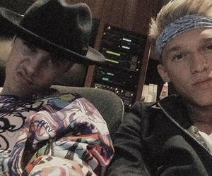 justin bieber, cody simpson, and boy image