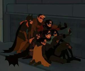 batgirl, batman, and robin image