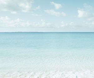 beach, blue, and summer image