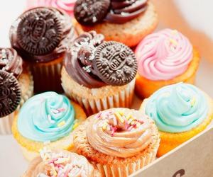 cupcake, food, and oreo image