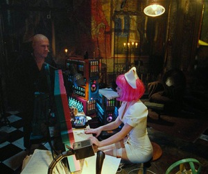 terry gilliam, melanie thierry, and bainsley image