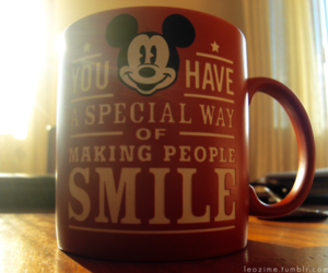 coffee, friendship, and mickey image