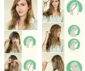 diy, hair, and tutorial image