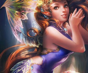 fairy, art, and fantasy image