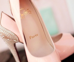 paris, shoes, and pink image