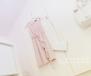 dreamy, dress, and soft pink image