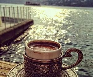 coffee and sea image