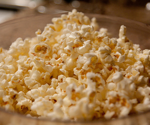 popcorn, food, and yummy image