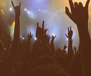 music, fall out boy, and party image