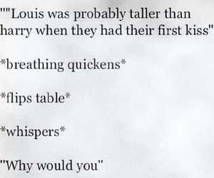 kiss, 1d, and louis tomlinson image