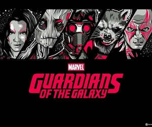 groot, guardians of the galaxy, and gamora image