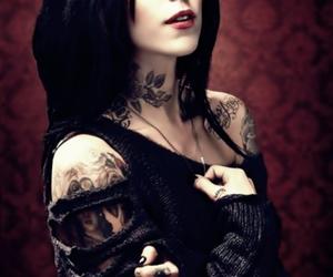 kat von d and tattoo image