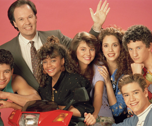 saved by the bell, 80s, and 90s image