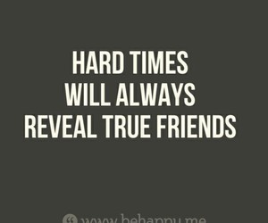 quote, true, and hard times image