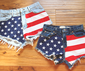 fashion, shorts, and usa image