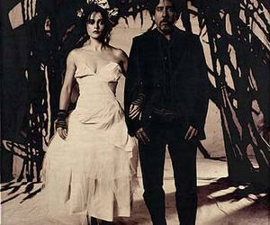 tim burton and helena bonham carter image