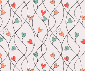 hearts, wallpaper, and backgrounds image