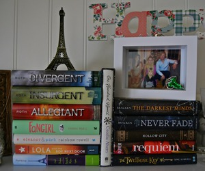 book, fangirl, and divergent image