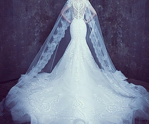 beautiful, weddingdress, and dreamdress image