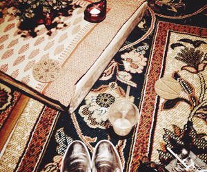 beauty, carpet, and india image