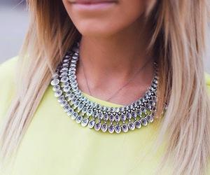 fashion, necklace, and shiny image